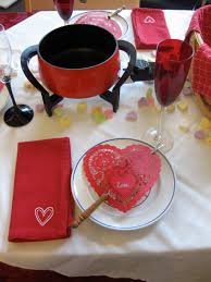 Valentines Day Tablescapes Tablescape Thursday Valentine U0027s Day Fondue Party No Money