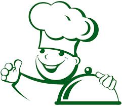 stiker cuisine sticker cuisine cuisinier avec cloche cocina