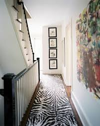 Zebra Runner Rug Runner Photos Design Ideas Remodel And Decor Lonny