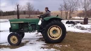 free john deere 710 cold start u0026 drive youtube