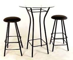 glass pub table and chairs latest counter height bistro table with amazing of tall bistro table