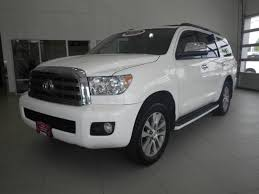 toyota suv sequoia used 2016 toyota sequoia suv limited 5 7l v8 white for sale