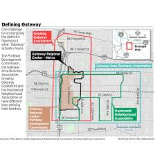 City Of Portland Maps by The Lost Vision For East Portland U0027s Gateway Oregonlive Com