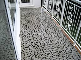 Mosaic Floor L Tile Balcony Flooring Readysetgrow Org