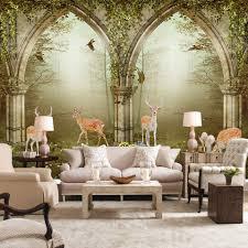 Wall Murals For Living Room Online Get Cheap Size Wallpaper Aliexpress Com Alibaba Group