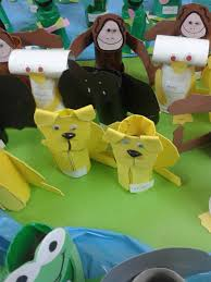 toilet paper roll monkey craft toilet designs