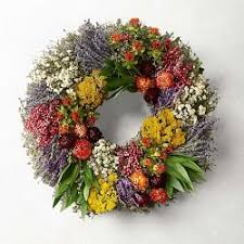flowers wreaths williams sonoma