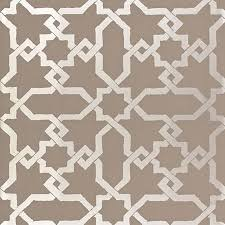 and silver cordoba wallpaper