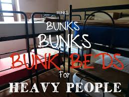Heavy Duty Bunk Beds For Heavy People  Are They Really Safe - Heavy duty metal bunk beds