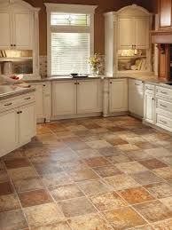 Polished Kitchen Floor Tiles - tile floors simple kitchen cabinet electric range circuit breaker