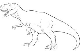 impressive rex tyrannosauru dinosaur coloring rex