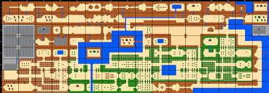 legend of zelda map with cheats legend of zelda map size comparison gaming