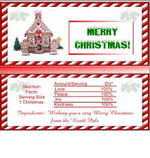 christmas candy bar wrappers with christmas candy bar wrapper