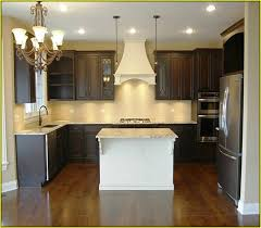 restain kitchen cabinets darker staining kitchen cabinets darker before and after pictures www