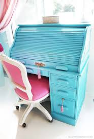 Small Roll Top Computer Desk From Antique To Chic Roll Top Desk Diy Design Desks And