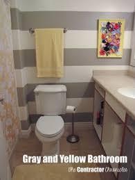 Grey And Yellow Bathroom Ideas Bathrooms Bathroom Grey Gray Yellow Black My Graduated Grey