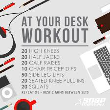 Office Desk Workout by Snap Fitness Cubao Home Facebook