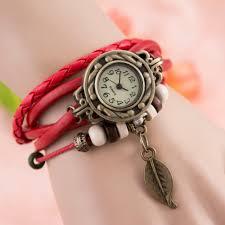 leather strap bracelet watches images V luma bracelet watch for ladies with leather strap jpg