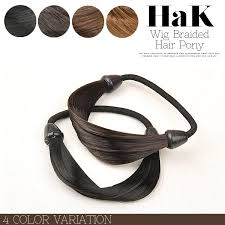 hair bobbles terracotta rakuten global market wig pony hair bobbles