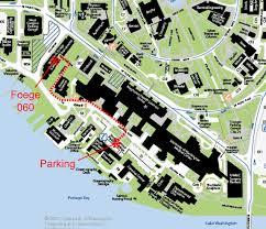 Map Of University Of Washington Travel U0026 Lodging