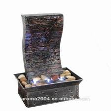 table top water fall mini slate water fountain indoor decorative art craft tabletop