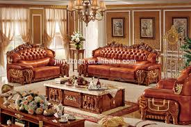 European Living Room Furniture Living Room Furniture European Leather Sofa With Coffee Table