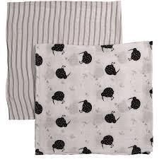babywise kiwi muslin wrap 2 pack the warehouse