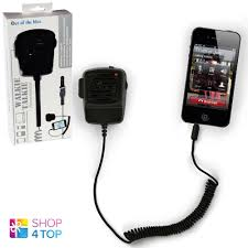 walkie talkie handset 2 way radio black police mobile phone