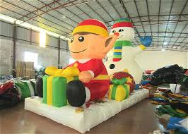Commercial Christmas Decorations Manufacturers by Commercial Snowman Large Christmas Inflatables Cartoon
