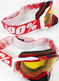 fox motocross goggles sale 100 100 percent racecraft motocross goggle fire red with yellow