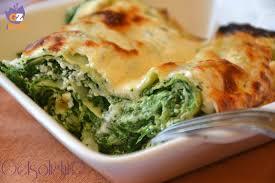 giallo zafferano cucina vegetariana lasagne spinaci e ricotta ricetta light