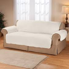 Furniture Protectors For Sofas by Sherpa Sofa Protector By Oakridge Comforts Couch Cover Easy