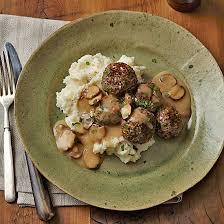 turkey and mushroom gravy recipe turkey quinoa meatballs with mushroom gravy family circle