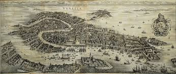 venice map map of venice from 1650