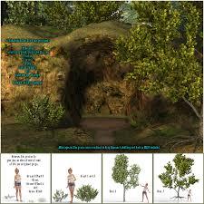 the cave for daz studio 4 9 by fictionalbookshelf 3d models