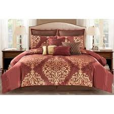 Jacquard Bed Set Home Patrice 10pc Jacquard Comforter Set Free Shipping