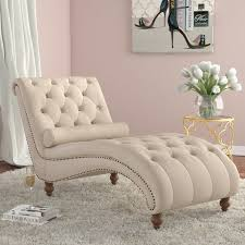 Chaise Lounge Chair House Of Hton Yarmouth Chaise Tufted Lounge Chair Reviews