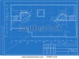floor plan blueprint blueprint floor plans modern apartment vector stock vector