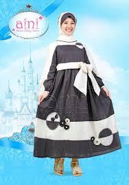 Baju Muslim Dewasa Ukuran Kecil baju muslim anak baby doll polkadot terbaru aini an 160906