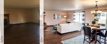 before and after staging utah home staged staging by design