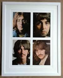 album inserts the beatles white album inserts columbia frame shop