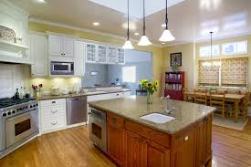 yellow kitchen walls white cabinets yellow walls and white cabinets in traditional kitchen with