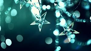 Christmas Decorations Video Lights by Festive Silver Blue Christmas Decorations Bokeh Lights Stock