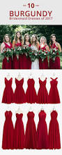 red bridesmaid dress latest wedding ideas photos gallery www