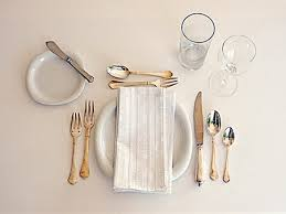how many place settings cotw make the right impression table manners