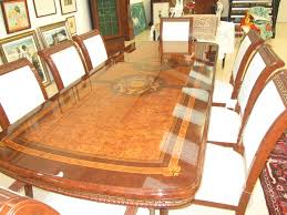 versace dining room table antiques atlas 20th century birds eye maple dining table chairs