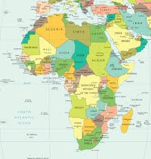 Spain Map Quiz by Africa Physical Map U2013 Travel With Regard To Map Africa Foto