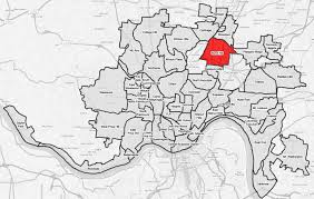 Free Zip Code Map by File Bond Hill Cincinnati Map Jpg Wikimedia Commons