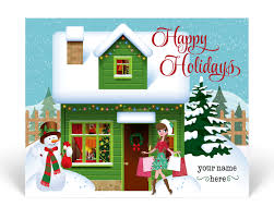 christmas postcards realtor christmas cards harrison greetings business