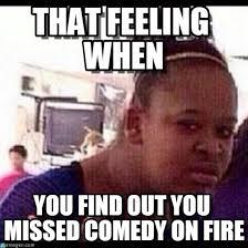 Fire Girl Meme - that feeling when confused black girl meme on memegen